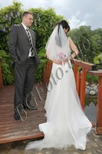 фото сесията с младоженци
